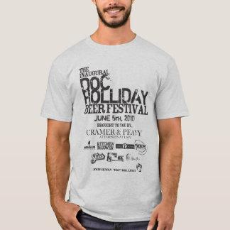 Camiseta Festival da cerveja de Doc Holliday