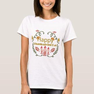 Camiseta Festival feliz da queda da acção de graças