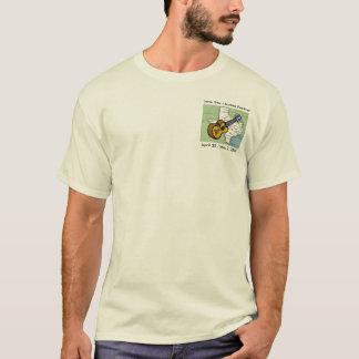 Camiseta Festival solitário do Ukulele da estrela