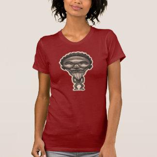 Camiseta Fetiche protectora, t-shirt mulher, colo redondo