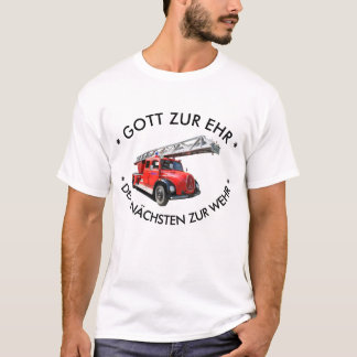 Camiseta Feuerwehrauto clássico