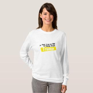 Camiseta Fez vem do trunfo engraçado