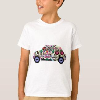 Camiseta Fiat clássico com crânios do açúcar