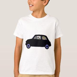 Camiseta Fiat com os 2 crânios do açúcar que olham o