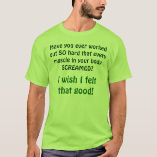 Camiseta Fibromialgia/desejo eu senti aquele bom!