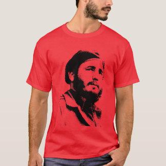 Camiseta Fidel novo com um t-shirt sonhador do olhar
