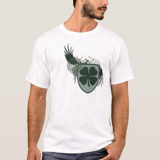 Camiseta fidelidade do trevo de quatro folhas