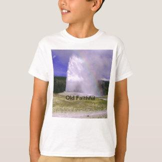 Camiseta Fiel velho no parque nacional de Yellowstone