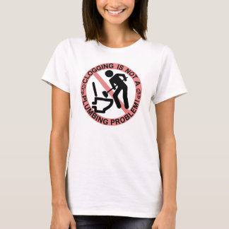 Camiseta Figura engraçada dançarino de obstrução da vara do