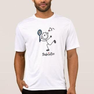Camiseta Figura masculina básica Badminton da vara
