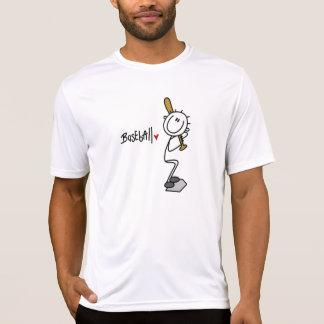 Camiseta Figura masculina básica t-shirt e presente da vara