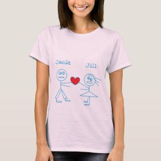 Camiseta Figura personalizada adorável t-shirt da vara do