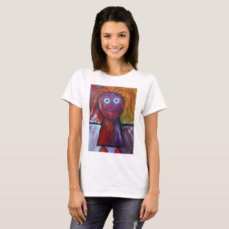 Camiseta Figura t-shirt da vara da desenho-menina das