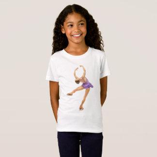 Camiseta Figura t-shirt do patinador