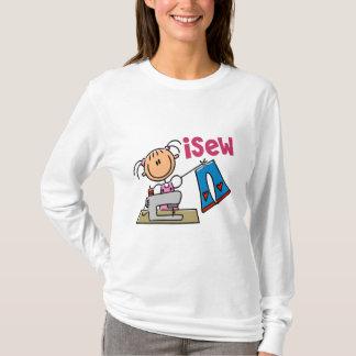 Camiseta figura t-shirt, presentes, e roupa da vara do iSew