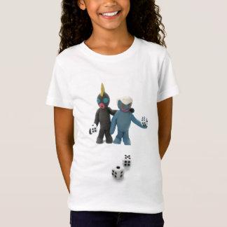 Camiseta figuras com dados