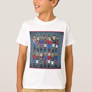 Camiseta Figuras do natal vintage, soldados idosos