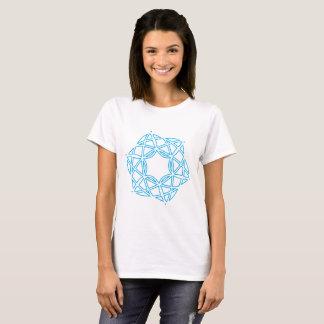 Camiseta Figuras e t-shirt unidos das estrelas