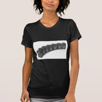 Camiseta Fileira dos auto-falante