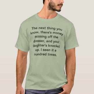Camiseta Filha batida acima