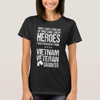 Camiseta Filha do veterano de Vietnam