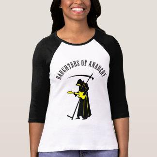 Camiseta Filhas do Ceifador do motociclista da anarquia