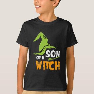 Camiseta Filho de um Tshirt do Dia das Bruxas da bruxa