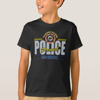 Camiseta Filho orgulhoso da polícia