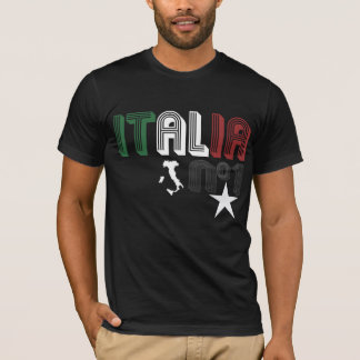 Camiseta Filhos de Italia - preto - Giovanni Paolo