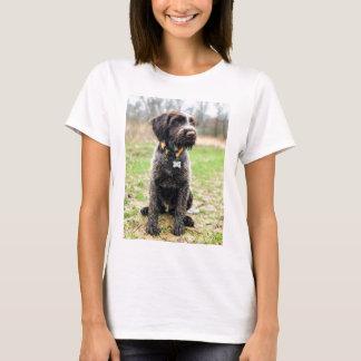 Camiseta Filhote de cachorro apontar Griffon Wirehaired