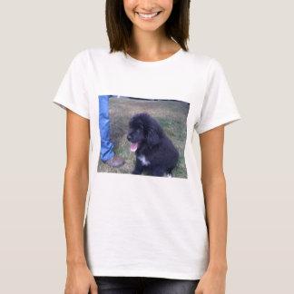 Camiseta Filhote de cachorro bonito de Newfie (raça do cão