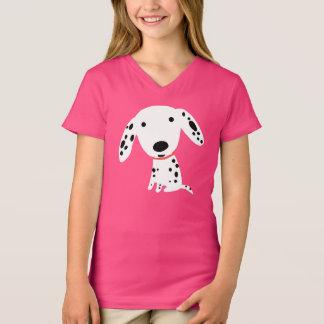 Camiseta Filhote de cachorro Dalmatian