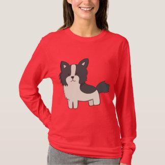 Camiseta Filhote de cachorro de border collie