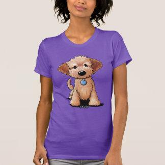 Camiseta Filhote de cachorro de KiniArt Goldendoodle