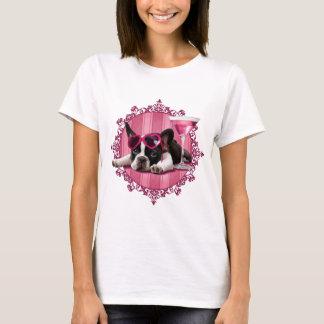 Camiseta Filhote de cachorro do buldogue francês