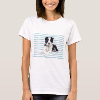 Camiseta Filhote de cachorro do cão do Collie