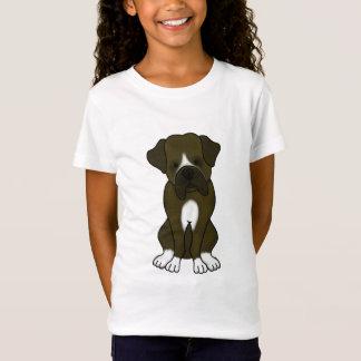 Camiseta Filhote de cachorro do cão do pugilista