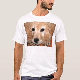 Camiseta Filhote de cachorro do golden retriever