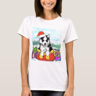 Camiseta Filhote de cachorro do Malamute do Alasca