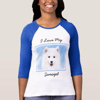 Camiseta Filhote de cachorro do Samoyed