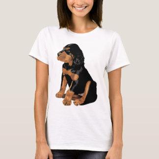 Camiseta Filhote de cachorro do setter de Gordon