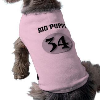 """Camiseta """"Filhote de cachorro grande"""" #34"""