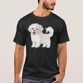 Camiseta Filhote de cachorro maltês