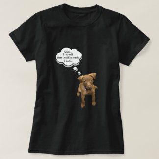 Camiseta Filhote de cachorro que implora pelo t-shirt dos