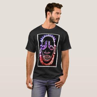 """Camiseta filhote de cachorro vermelho de """"máscara Benin """""""