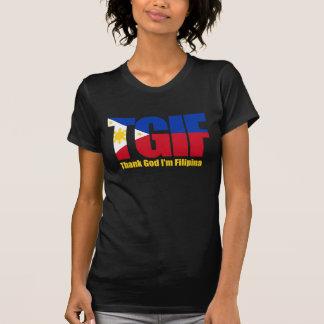 Camiseta Filipina de TGIF com bandeira filipino