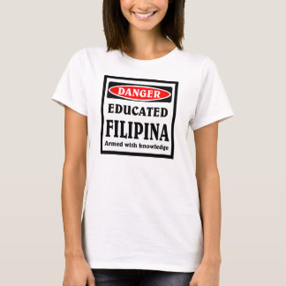 Camiseta Filipina. educado