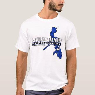Camiseta Filipinas representam