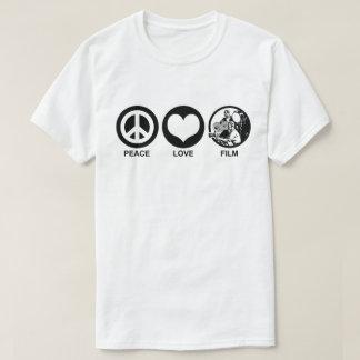 Camiseta Filme do amor da paz