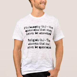 Camiseta Filosofia e religião
